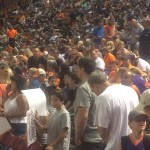 "Big Crowd for Suns return to ""Madhouse on McDowell"""