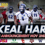 STREAM LIVE: N'Keal Harry College Announcement