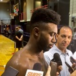Hoops Notes: Jaylen Brown, Terrence Ferguson, Alex Barcello
