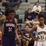GALLERY: Desert Edge vs Sahuaro Girl's Basketball