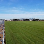 Notebook-Rising FC Stadium Coming Together