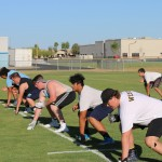 Deer Valley Football Road Graders Leading Skyhawks