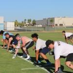 Deer Valley Football Road Graders Leading Skyhawks