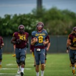 GALLERY: Sights from ASU football practice