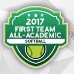 2017 All-Academic Softball Team