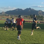 GALLERY-Casteel Colts Navy/Gold Scrimmage
