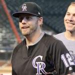 GALLERY: D-backs, Rockies Prep for NL Wild Card