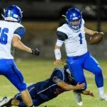 VIDEO-Arizona high school QB sets National TD record