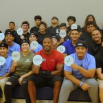 David Johnson Practices New Sport While Giving Back