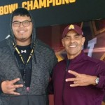 Feeling Devilish: Frias Ready For ASU