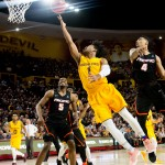 GALLERY: #3 Ranked ASU Basketball Remains Unbeaten