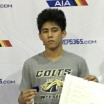 Ramos Wins First State Wrestling Title for Casteel
