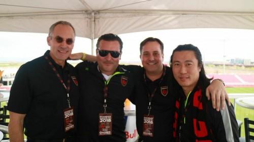 TIm Riester, Berke Bakay, Mark Detmer pictured left to right.