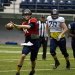 Northern Arizona Holds First Spring Scrimmage