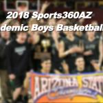 2018 All-Academic Boys Basketball Team (1A-3A)