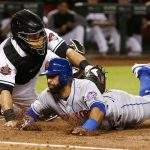 Diamondbacks split series with Mets