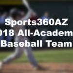 2018 All-Academic Baseball Team