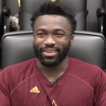 Eno Benjamin Relives His First Career College Touchdown