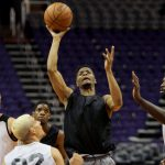 Local basketball players given one last shot in tryout for Suns' G League affiliate