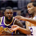 Second quarter hurts Suns in loss to Lakers, Booker strained left hamstring