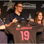 Ty Robinson Receives All-American Jersey