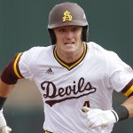 ASU's Hunter Bishop Selected by Giants in First Round of MLB Draft