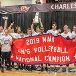Men's Volleyball Brings Benedictine at Mesa First National Championship
