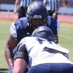 NAU Football Holds Scrimmage at Chandler High School