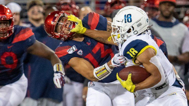 NAU Football Ready for Challenge in Tucson