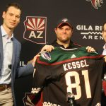Kessel Introduced With Coyotes