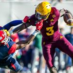 Sun Devil Running Back Eno Benjamin Selected By Cardinals