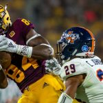 Frank Darby Focused on Leading Young Sun Devil Receivers