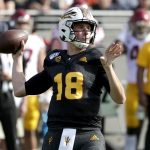 QB Yellen Impressive, Sun Devils Fall to USC