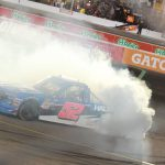 Stewart Friesen Makes Comeback Win in the Lucas Oil 150