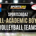NOW TAKING NOMINATIONS FOR ALL-ACADEMIC BOYS VOLLEYBALL TEAMS