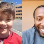 A Surprise from Fitzgerald for Nine-Year-Old on Final Day of Cancer Treatment