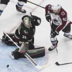 Coyotes Hold On, Win Game Three Against Colorado