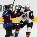 Coyotes Smothered By Avalanche, Drop Game One
