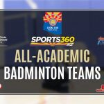 Sports360AZ All-Academic Badminton Team