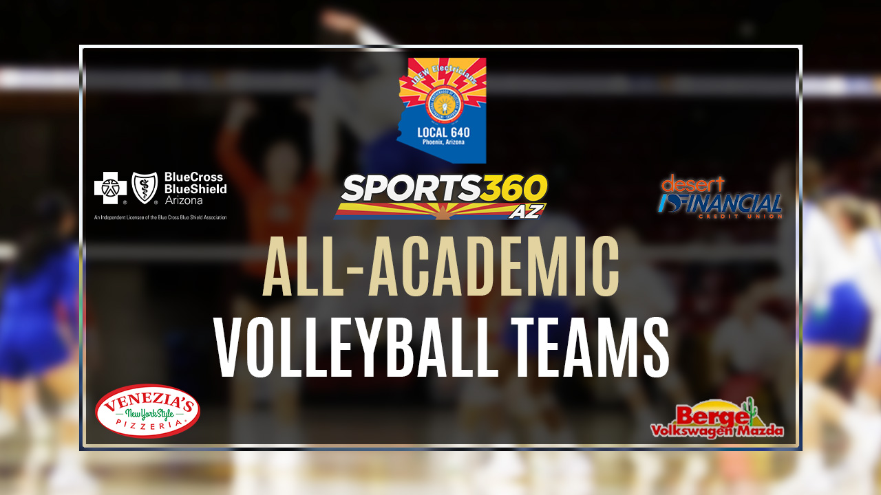 Sports360az All Academic Girls Volleyball Team 1a 3a