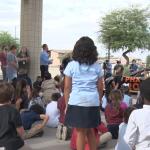 NASCAR Driver Jesse Love Visits Desert Star Elementary