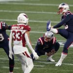 Missed Field Goal Dooms Cardinals at New England