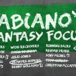 Fabiano's Fantasy Focus: Week 16, Volume I