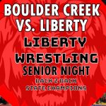 LIVE 5PM – Boulder Creek @ Liberty Wrestling